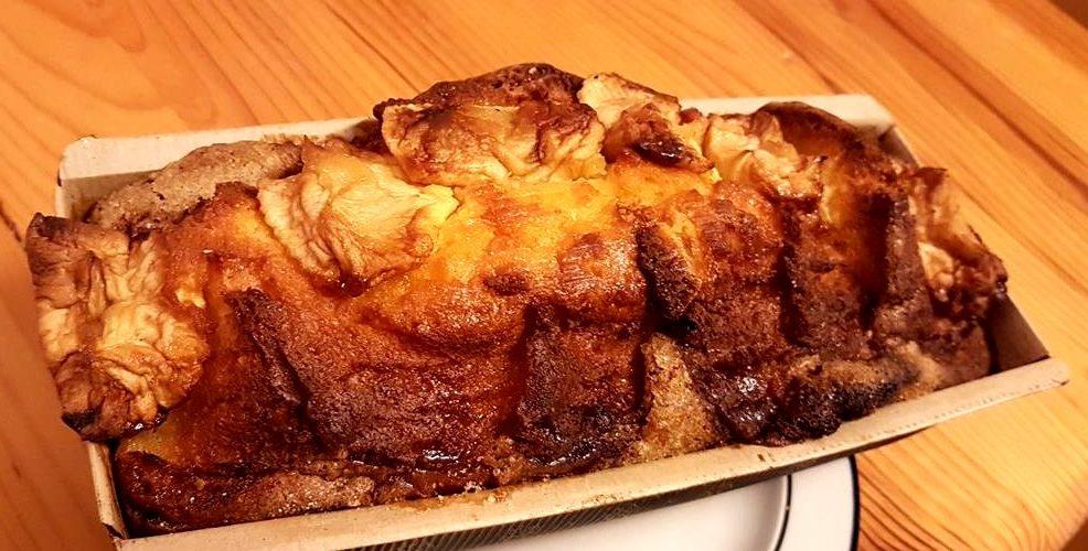 Cake aux pommes moelleux (facile)