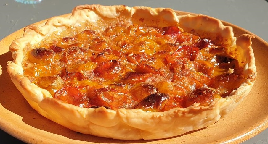 Tarte aux prunes (rapide et facile)